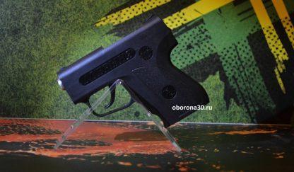 """Аэрозольный пистолет """"Добрыня"""" с втулкой-имитатором дульного среза."""