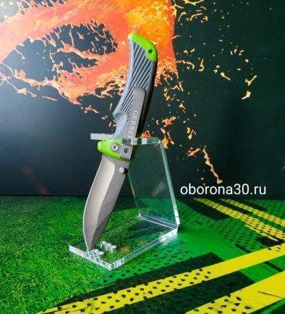 "Нож ""Bear Grylls-114""(зеленый)."