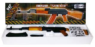 Пневматические винтовки Автомат пневматический Stalker S47 (Дерево)