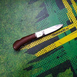 Ножи Нож автоматический складной «Снайпер» (рукоять дерево) Медтех