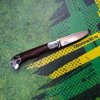 Ножи Нож автоматический складной «Походный» (рукоять дерево) Медтех