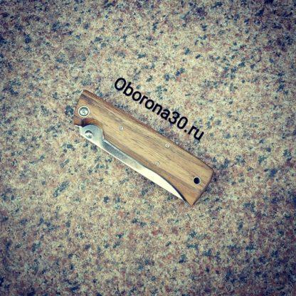 Ножи Нож складной «Стерх» (рукоять дерево) Кизляр
