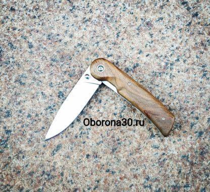 Ножи Нож складной «Байкер-1» (рукоять дерево) Кизляр