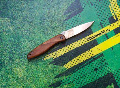 Ножи Нож складной «Куница» (рукоять дерево) Кизляр