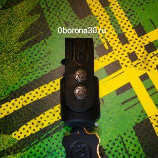 """Чехлы на Г.Б. Чехол для баллончика 50/65 мл (кожаный) с клипсой (производство СПБ """"Conan"""")"""