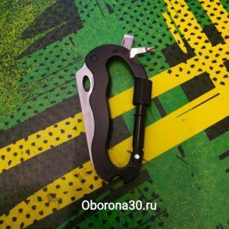 Складные Ножи Карабин-мультитул (черный)