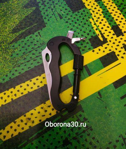 Инструменты/аксессуары Карабин-мультитул (черный)