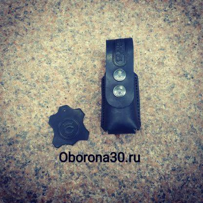 """Чехлы на Г.Б. Чехол для баллончика 65/75 мл (кожаный) с клипсой (производство СПБ """"Conan"""")"""