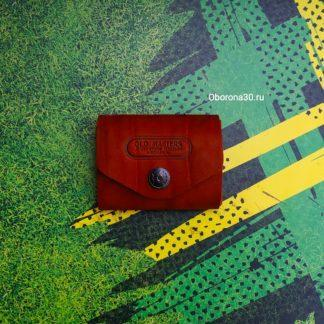 Кожаные изделия Купюрник с кархолдером ручной работы (Conan)