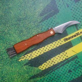 """Складные Ножи """"Нож грибника"""" складной с щёточкой."""