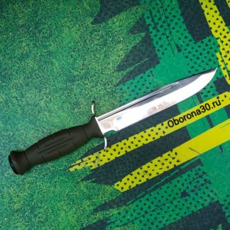 """Ножи с фиксированным клинком НОЖ """"РАЗВЕДЧИК"""" (рукоять резина) Медтех"""