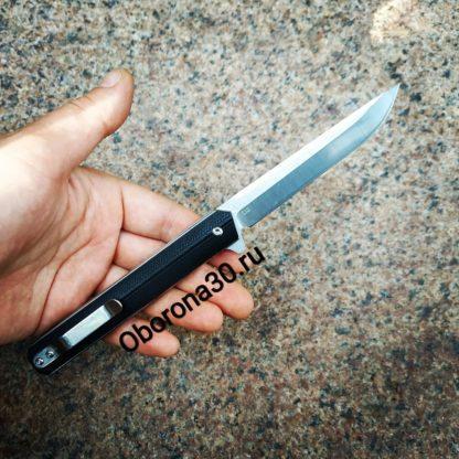 "Ножи Нож складнoй ""Five Pro"" Classic (черный) D2"