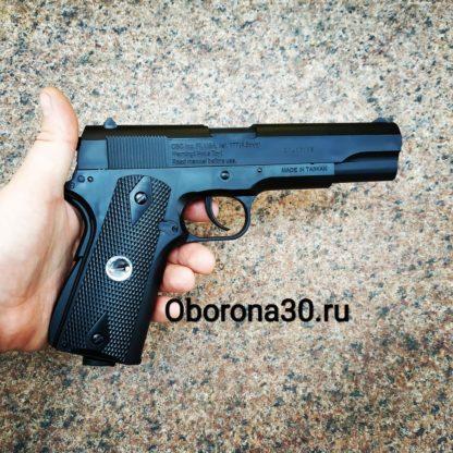 Пневматические Пистолеты Пистолет пневматический Borner CLT125 (аналог Colt 1911)