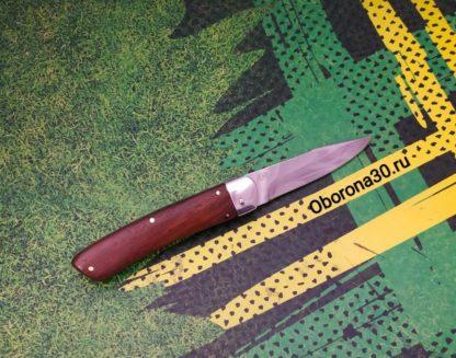 Ножи Нож автоматический складной «Капрал» (рукоять дерево) Пират