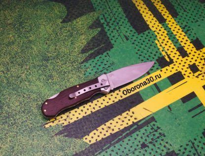 Ножи Нож складной «Пикник» (рукоять дерево) Пират